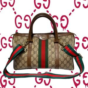 Gucci large Doctor Boston GG Bag.